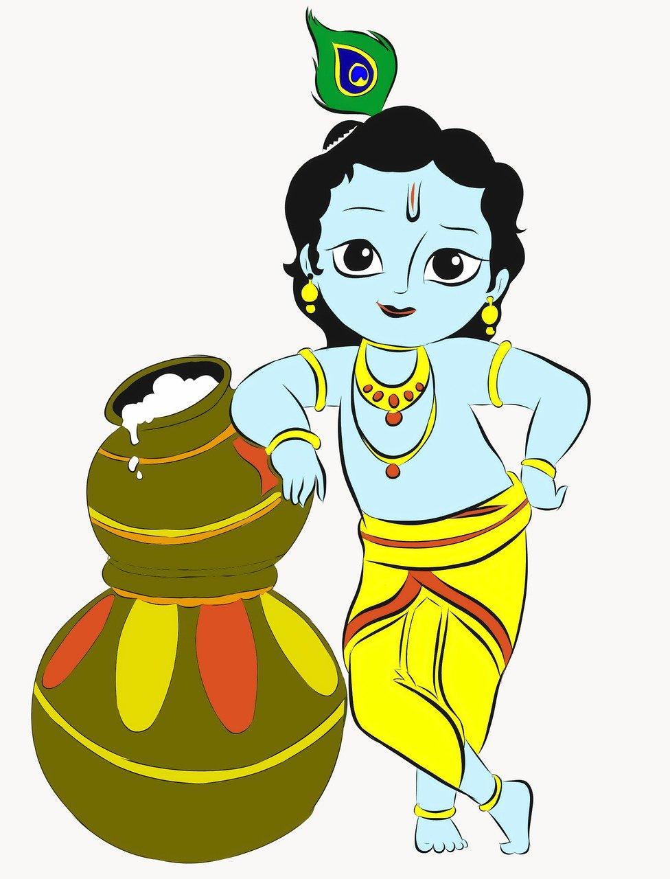 Krishna: The man who distinguished Spirituality over religion.